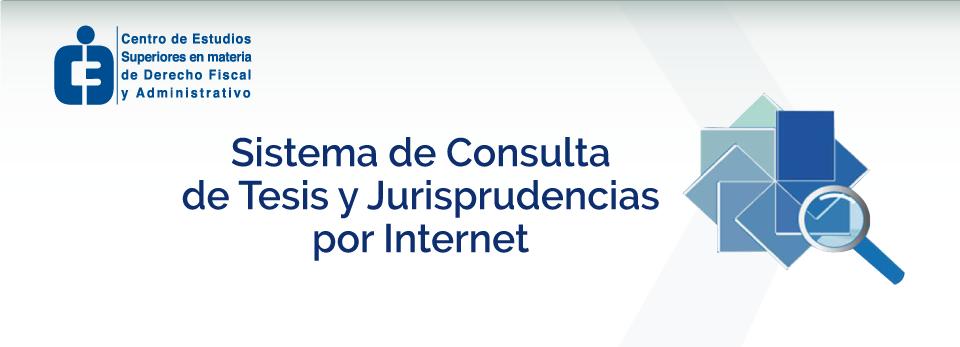 Sistema de Consulta de Jurisprudencias por Internet